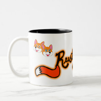 Rustyfoxes 2-Tone 11 oz. Coffee Mug