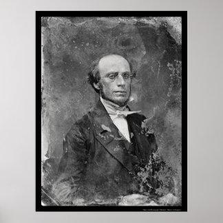 Rutgers President Charles West Daguerreotype 1846 Poster