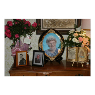 Ruth Holland -- Photos and Flowers Poster