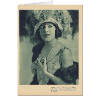 Ruth Roland 1923 portrait Card