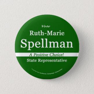 Ruth Spellman for Maine State Representative 2 Inch Round Button