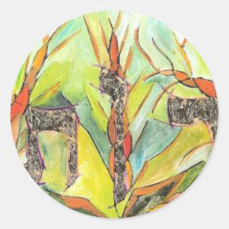 Ruth Round Stickers