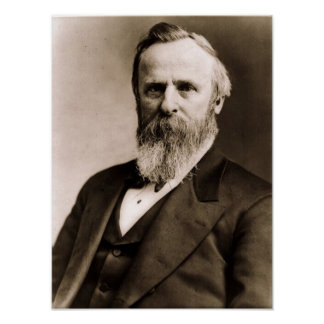 Rutherford B. Hayes 19 Poster