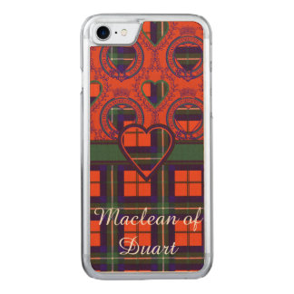Ruthven clan Plaid Scottish tartan Carved iPhone 7 Case