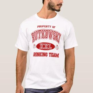 Rutkowski Polish Drinking Team T-Shirt
