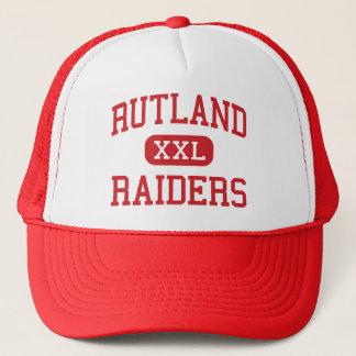 Rutland - Raiders - High School - Rutland Vermont Trucker Hat