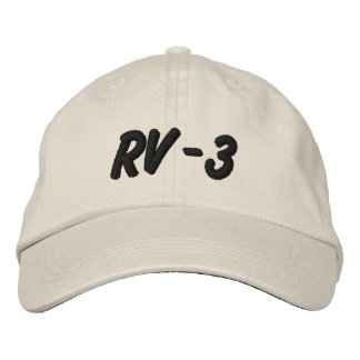 RV-3 EMBROIDERED HAT