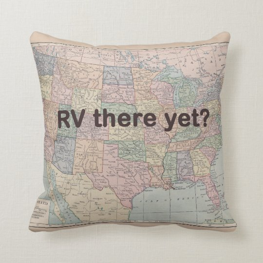 RV Camper Pillow