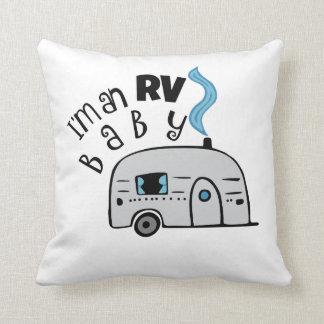 RV Camper Throw Pillow