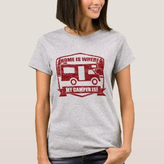 RV Camper Van Owners Wild Camping T-Shirt