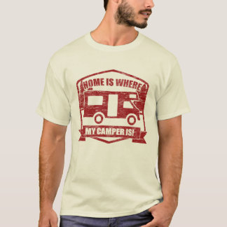 RV, Camper Van Owners Wild Camping T-Shirt