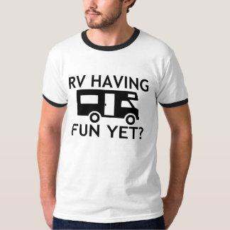 RV Having Fun Yet Funny Wordplay T-Shirt