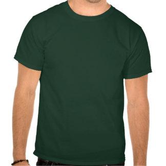 RV LÀ ENCORE OBSCURITÉ verte T-shirts