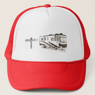 RV work/life Trucker Hat