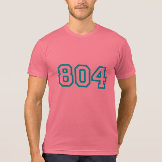 RVA 804 Area Code T-Shirt
