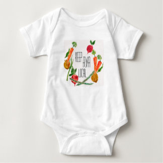 RVA Go Local Baby Outfit Farm Fresh Design Baby Bodysuit