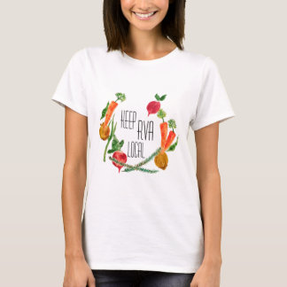 RVA Go Local Women's T Shirt Farm Fresh Design
