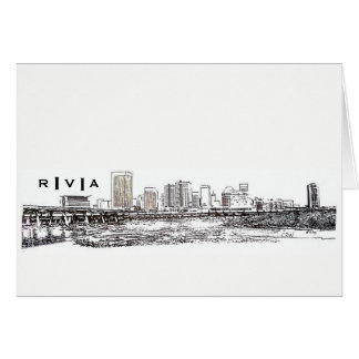 RVA Skyline Card