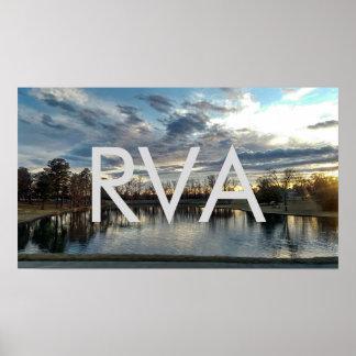 RVA Sunset Poster