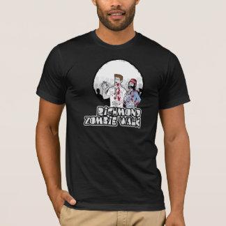 rva zombie walk american apparel dark colors T-Shirt