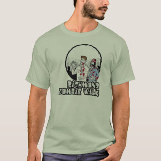 rva zombie walk basic tee light colors