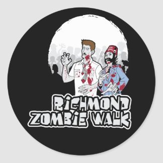 rva zombie walk stickers