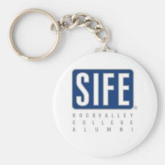 RVC SIFE Alumni Basic Round Button Keychain