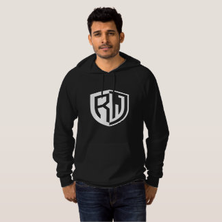 RW Photography Men's Fleece Pullover Back Sig