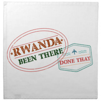 Rwanda Been There Done That Napkin