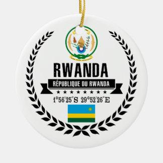 Rwanda Ceramic Ornament