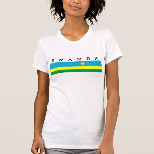 rwanda country flag nation symbol T-Shirt
