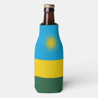 Rwanda Flag Bottle Cooler