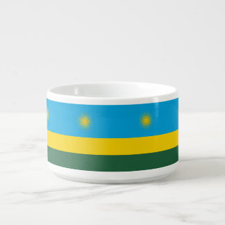 Rwanda Flag Bowl