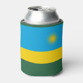 Rwanda Flag Can Cooler