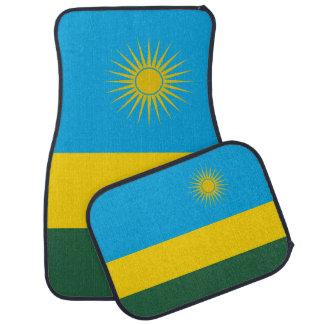 Rwanda Flag Car Liners