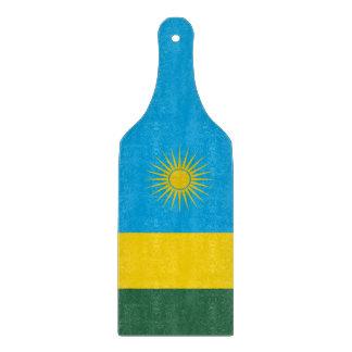 Rwanda Flag Cutting Board