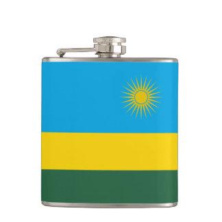 Rwanda Flag Flask