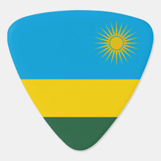 Rwanda Flag Guitar Pick