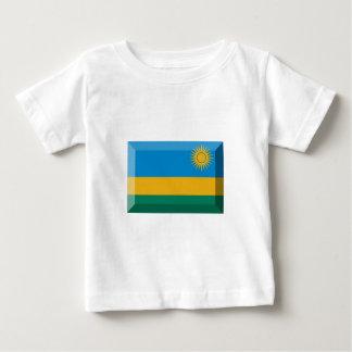 Rwanda Flag Jewel Baby T-Shirt