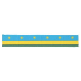 Rwanda Flag Long Table Runner