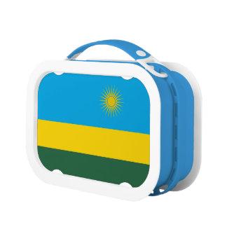 Rwanda Flag Lunch Box