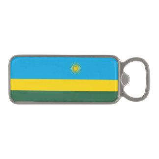 Rwanda Flag Magnetic Bottle Opener
