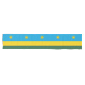 Rwanda Flag Medium Table Runner