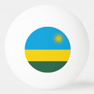 Rwanda Flag Ping Pong Ball