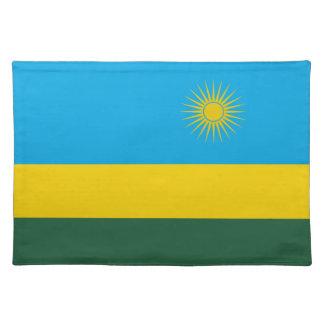 Rwanda Flag Placemat