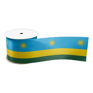 Rwanda Flag Satin Ribbon