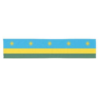 Rwanda Flag Short Table Runner