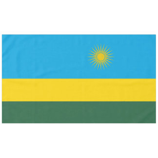 Rwanda Flag Tablecloth
