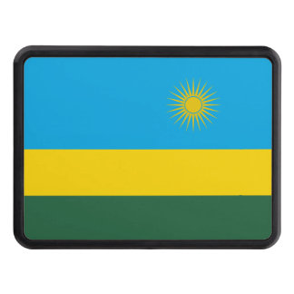 Rwanda Flag Trailer Hitch Cover