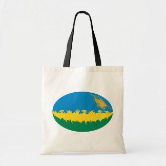 Rwanda Gnarly Flag Bag